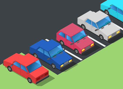 Парковка на газоне: кто и как штрафует