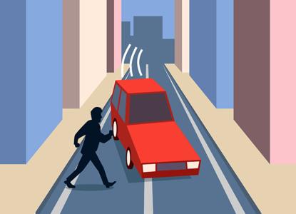 ВС отменил штраф водителю за непропуск пешехода