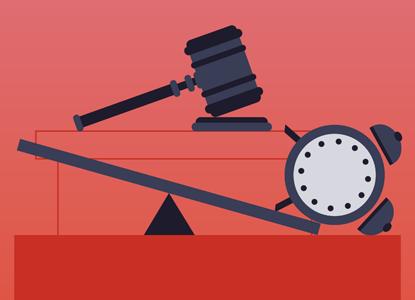 Судей обязали отчитываться о скорости рассмотрения дел