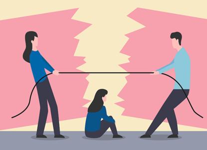 Семейные споры: сохранить отношения с детьми после развода