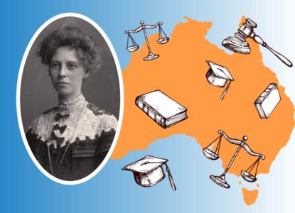 Законы и шляпки: история первой женщины-юриста Австралии