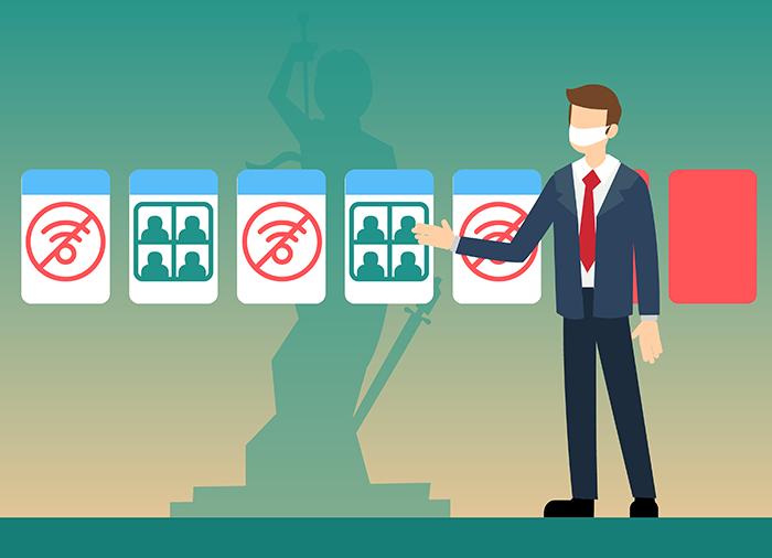 Из офиса на удаленку и обратно: как изменилась работа юристов за год