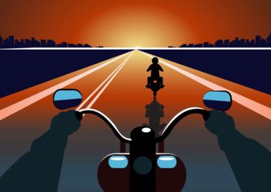 Не заметил мотоциклиста: когда права не удалось вернуть