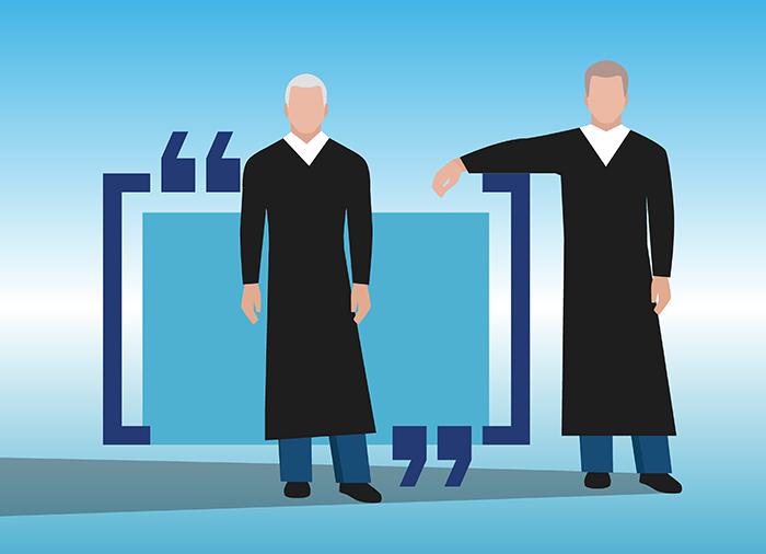 Эксперты выяснили, на какие решения суды ссылаются чаще всего