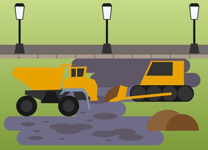 Верховный суд заставил чиновников отремонтировать плохую дорогу
