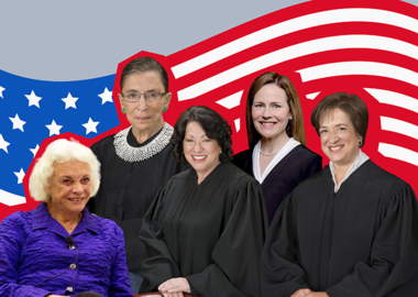 Пятеро за двести с лишним лет: женщины в Верховном суде США