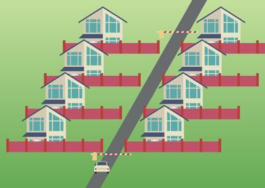 Платная дорога к дому: как владельцы коттеджей борются с «поборами»