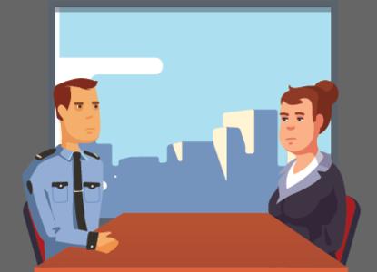 """Тест-комикс """"Обыск и допрос в офисе"""""""