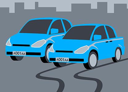 """""""Машины-двойники"""": ВС разобрался с проблемой авто с одинаковыми номерами"""