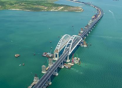 Киев намерен взыскать с России убытки из-за строительства моста