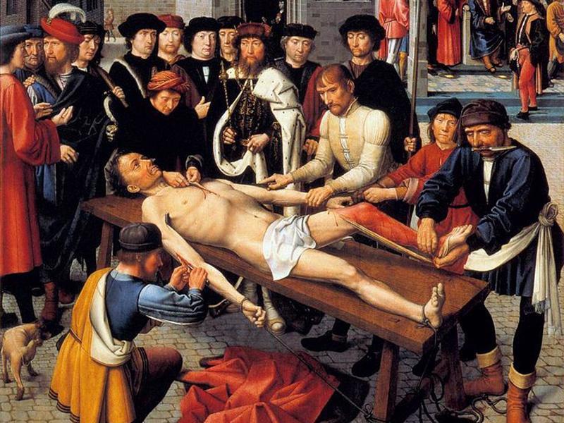 Суд в красках: смерть и адвокат, судья без кожи и все виды наказаний