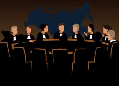 Совет судей обсудил проблемы формирования новых судов и домашнее насилие