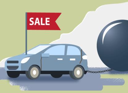 если машина залог на кредит можно ли ее продать
