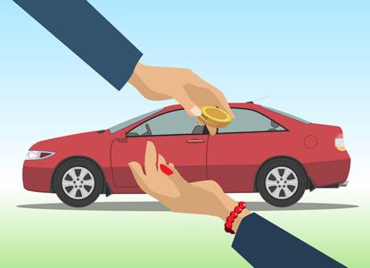 раздел имущества если продана машина
