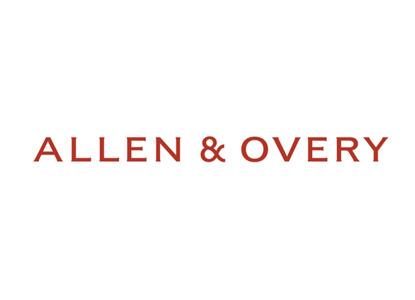 "Юридическая фирма ""Аллен энд Овери"" объявляет о ключевых назначениях"