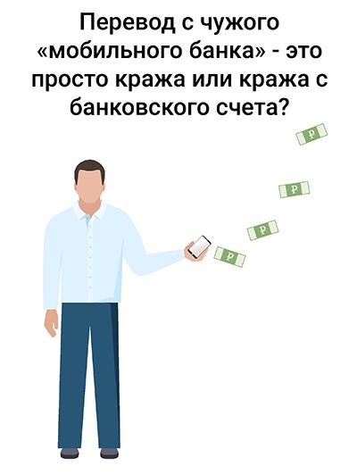 Пленум кража со счета