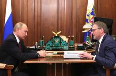 Титов обсудил с Путиным возможность освобождения бизнесменов под залог / Фото: kremlin.ru