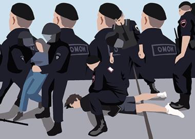Дубинка как правовой аргумент: Росгвардия против экспертов и ЕСПЧ
