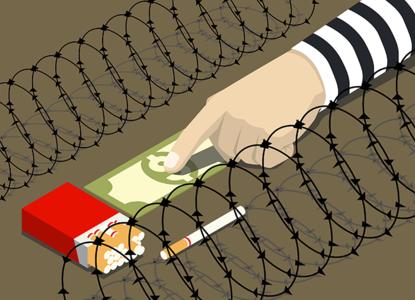 Экономика тюрем: плата сигаретами, сладостями и «точками»