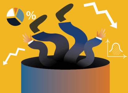 Тренд на спад: исследование по банкротствам компаний